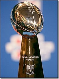 The Prestigious Vince Lombardi Trophy Awarded To Winner Of Super Bowl